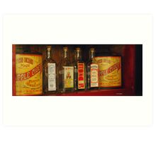 Yesteryear's Products Art Print