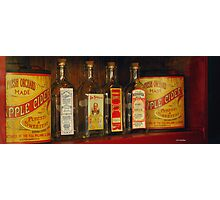 Yesteryear's Products Photographic Print