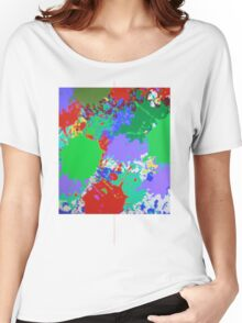 RED  & GREEN & BLUE Women's Relaxed Fit T-Shirt