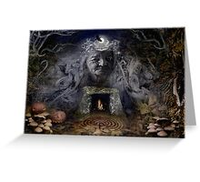 Samhain Goddess : The Crone Greeting Card