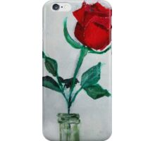 Red Rose 1 iPhone Case/Skin