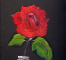 Red Rose 3 by rosalind roberts