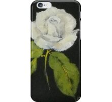 White rose 1 iPhone Case/Skin