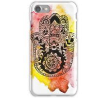 HAMSA Watercolour Phone Case iPhone Case/Skin