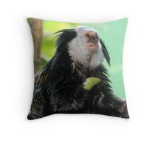 Geoffroy's marmoset Throw Pillow