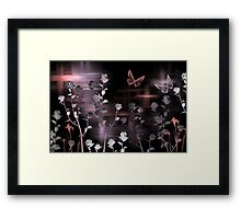 Brush Art Framed Print