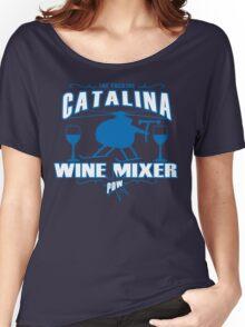 THE FUCKING CATALINA WINE MIXER POW FUNNY GEEK NERD Women's Relaxed Fit T-Shirt
