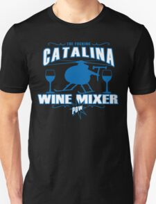 THE FUCKING CATALINA WINE MIXER POW FUNNY GEEK NERD Unisex T-Shirt
