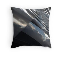 Cloud Projection Throw Pillow