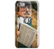Geelong Bollards - James Harrison iPhone Case/Skin