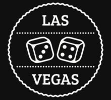 Las Vegas Patch (Nevada / White) Kids Tee
