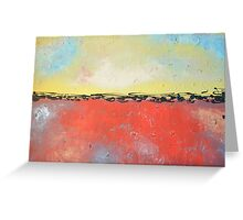 """Large Abstract Canvas Art Original Work """"You are Flawless"""" Greeting Card"""