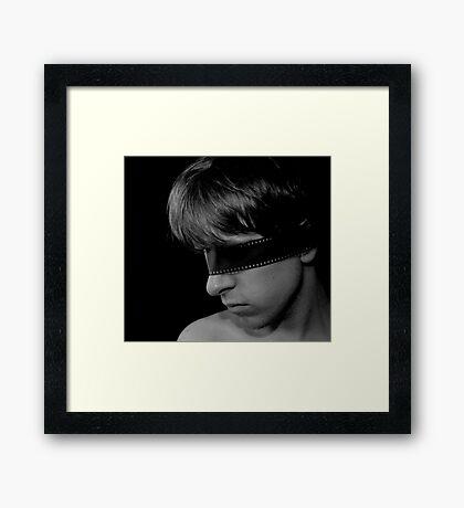 Filmic Portrait Framed Print