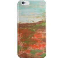 """Neutral painting,nude colors painting, cityscape painting, neutral painting, nature art Love of nature3 by Veronica Vilsan 47,2x31,5"""" iPhone Case/Skin"""