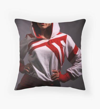 Beth studio Throw Pillow