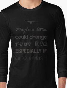 HOGWARTS LETTER Long Sleeve T-Shirt