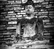Peaceful Buddha Print by Anna McPhee
