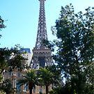 Eiffel & Palms by Mooreky5