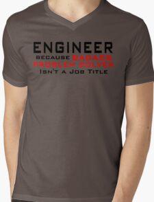 Engineer Mens V-Neck T-Shirt