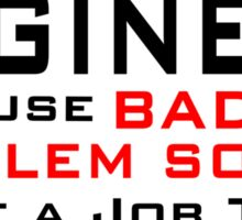Engineer Sticker