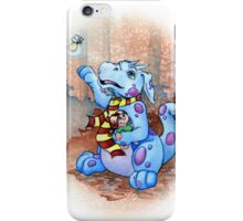 george the little dragon iPhone Case/Skin