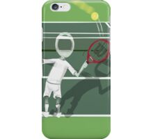 Corky's playing tennis iPhone Case/Skin
