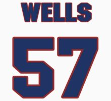 National baseball player Casper Wells jersey 57 by imsport