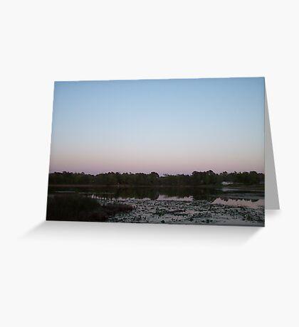 Catherine's Lake Greeting Card