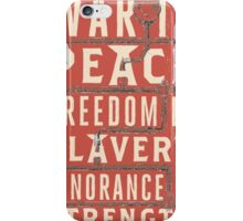 George Orwell's 1984 iPhone Case/Skin