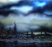 Threatening Storm by Barry W  King