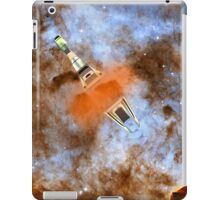 Cruiser/fighter passing through a time warp - all products iPad Case/Skin