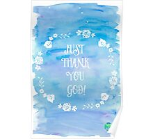 JUst Thank You God! Poster