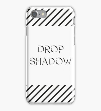 Drop Shadow iPhone Case/Skin