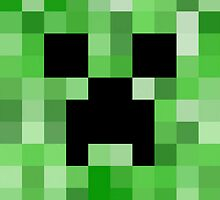 Minecraft Creeper - Pixel - Games by PixelProducts