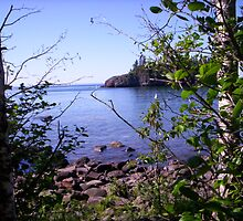 Shore of Lake Superior, Minnesota by jbbrown987