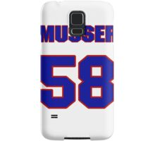 National baseball player Neal Musser jersey 58 Samsung Galaxy Case/Skin