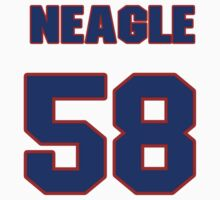 National baseball player Denny Neagle jersey 58 by imsport