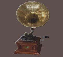 gramophone t-shirt by parko