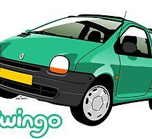 Renault Twingo green by car2oonz