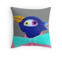 Aident Itty Crysis Throw Pillow