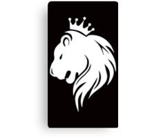 King White Canvas Print