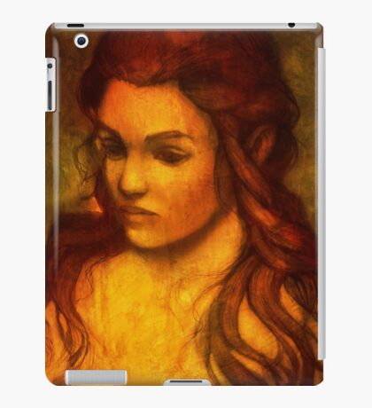 Silvia iPad Case/Skin