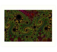 """MATHEMATICAL FANTASY  -  NUMBER TWO Art Print"