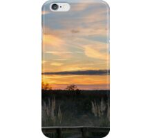 December Forest Sunset iPhone Case/Skin
