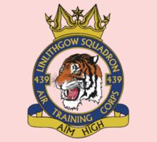 439 (Linlithgow) Squadron Small Crest  Kids Clothes