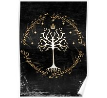 tree of gondor Poster