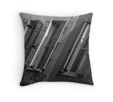 Queen Street Shutters Throw Pillow