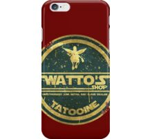 WATTO' S SHOP TATOOINE  iPhone Case/Skin
