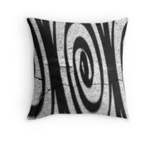 Charleston Iron Swirls Throw Pillow