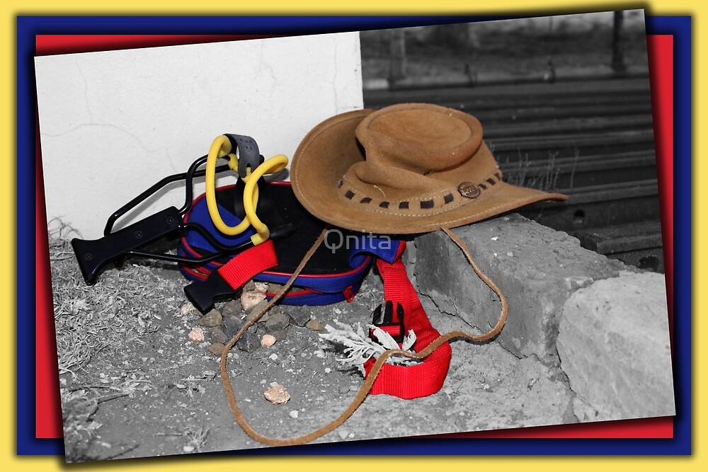 Little Cowboy's Belongings... Free State, South Africa by Qnita